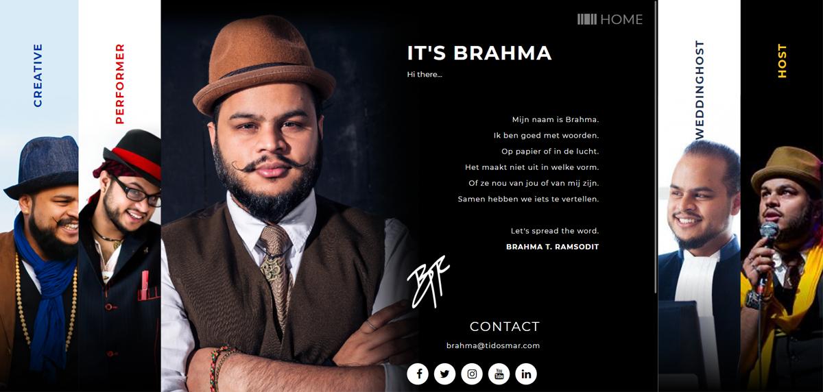 It's Brahma
